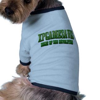 XPG grüne gewollte Blick Strecke Ringer Hunde-Shirt