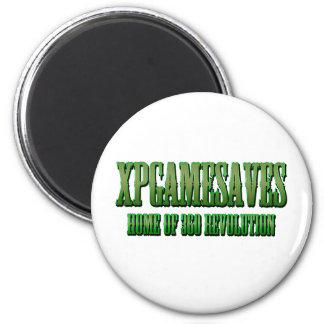 XPG grüne gewollte Blick Strecke Kühlschrankmagnete