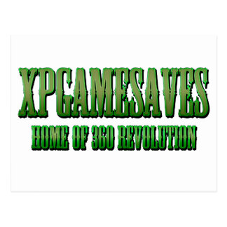 XPG grüne gewollte Blick Strecke Postkarte