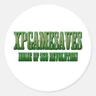 XPG grüne gewollte Blick Strecke Runde Sticker