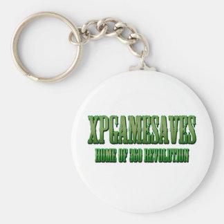 XPG grüne gewollte Blick Strecke Schlüsselanhänger