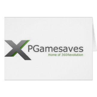 XPGamesaves Strecke v1 Grußkarte