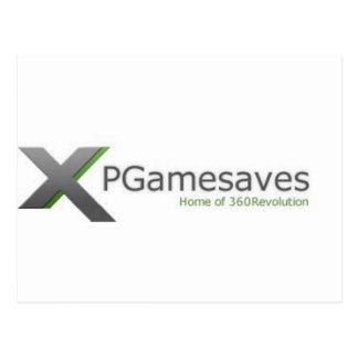 XPGamesaves Strecke v1 Postkarte