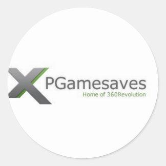 XPGamesaves Strecke v1 Runde Aufkleber