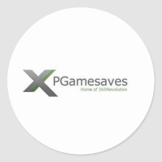 XPGamesaves Strecke v1 Runder Aufkleber