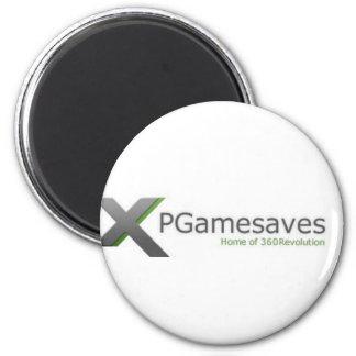 XPGamesaves Strecke v1 Runder Magnet 5,7 Cm