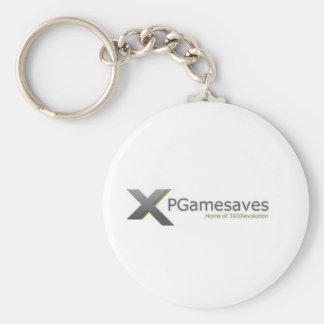 XPGamesaves Strecke v1 Standard Runder Schlüsselanhänger