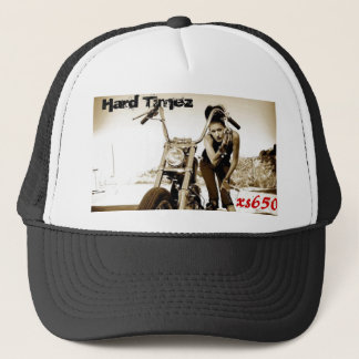 xs650, hartes Timez,… Bobber yamaha Truckerkappe