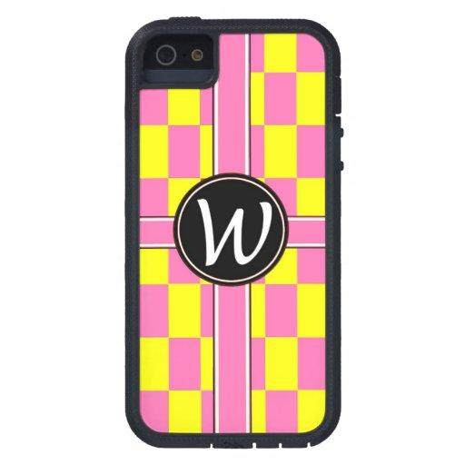 "xtream Damen-Fallrosa ""W "" a iPhone 5 Schutzhüllen"