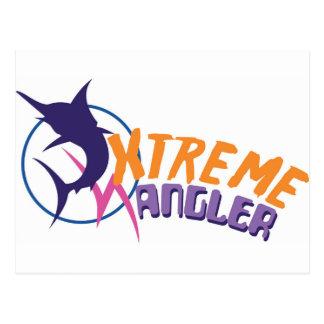 Xtreme-Angler Postkarte