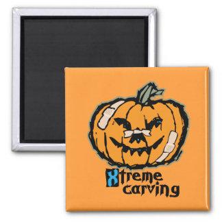 Xtreme-Kürbis-Schnitzen Magnete