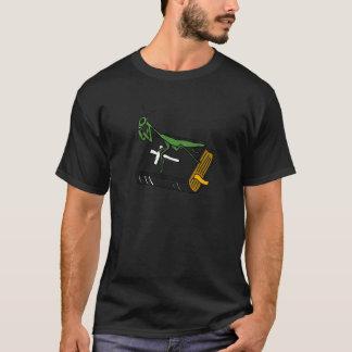 XX betender Mantis auf einer Bibel T-Shirt