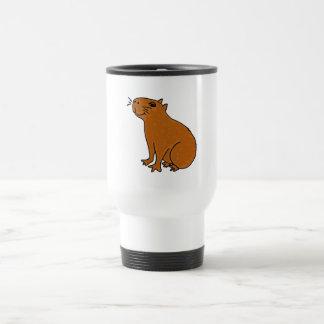 XX Capybara-Kunst Reisebecher