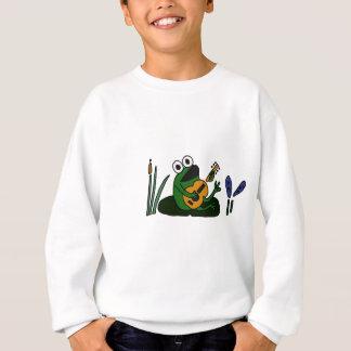XX Gesang-Frosch mit Gitarre Sweatshirt