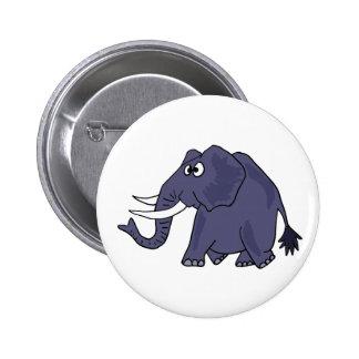 XX lustiger Elefant-Cartoon Anstecknadel