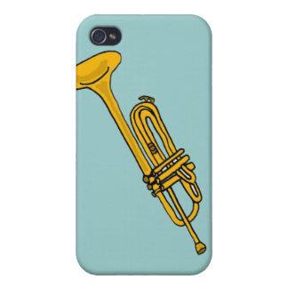 XX Spaß-Trompete-Cartoon iPhone 4/4S Hülle