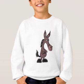 XX störrisches Maultier oder Donky Cartoon Sweatshirt