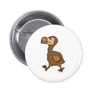 XX unglaublich witzig Dodo-Vogel-Entwurf Runder Button 5,1 Cm