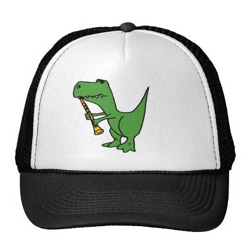 XX unglaublich witzig T-rex Dinosaurier, der den C Truckerkappe
