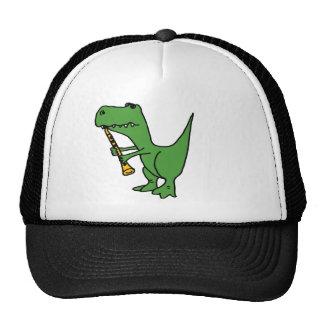 XX unglaublich witzig T-rex Dinosaurier, der den C Netzmütze