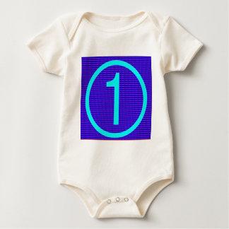 y c YYY CCC 1 EIN ALPHABET-GIF DES Baby Strampler