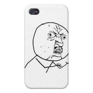 Y U kein Typ-Comic-Gesicht iPhone 4 Schutzhülle