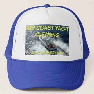 """yacht, 3. Küsten-Yacht-Reinigung, """"den ganzen Tag Truckerkappe"""