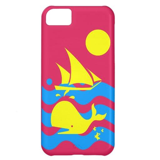 Yacht-Leben iPhone 5 Fallrosa iPhone 5C Hüllen