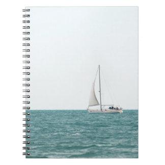 Yacht Notizblock
