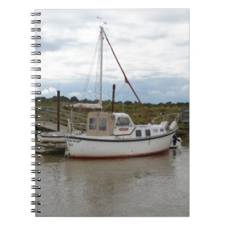 Yacht Quintas bei Southwold Notizblock