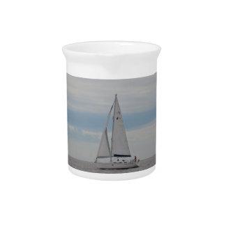 Yacht-Spatzen-Geschenke Krug
