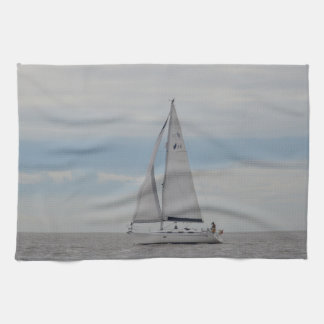 Yacht-Spatzen-Geschenke Küchentuch