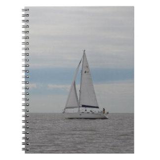 Yacht-Spatzen-Geschenke Notizblock