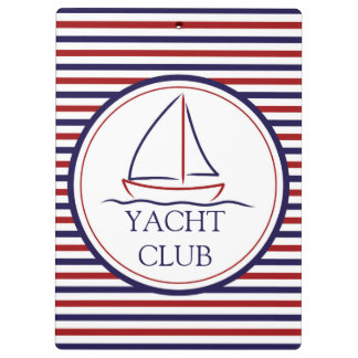 Yachtclub Klemmbrett