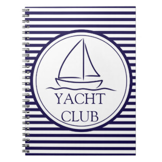 Yachtclub Notizblock