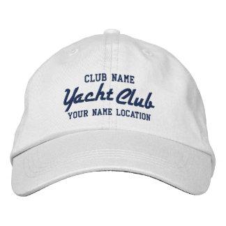 Yachtclub Personalizable Kappe Bestickte Kappen