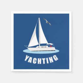 Yachting Papierserviette