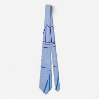 Yachtmuster Bedruckte Krawatten