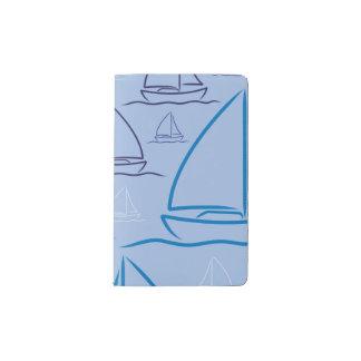 Yachtmuster Moleskine Taschennotizbuch