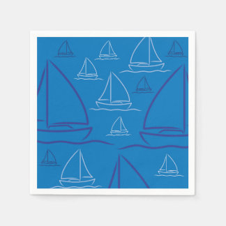 Yachtmuster Papierserviette