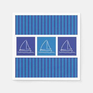 Yachtmuster Serviette