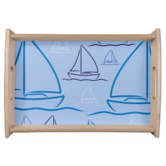 Yachtmuster Tablett