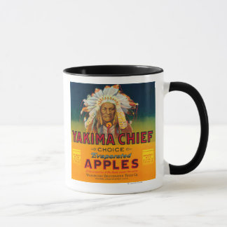 Yakima HauptApple beschriften - Yakima, WA Tasse