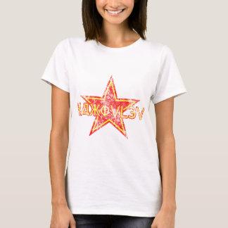 Yakovlev roter Stern getragen T-Shirt