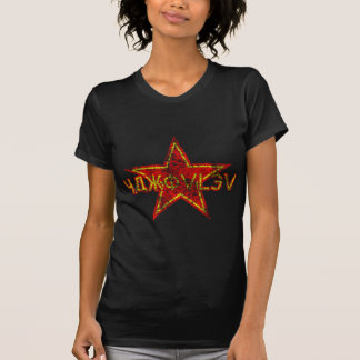Yakovlev roter Stern getragen T Shirt