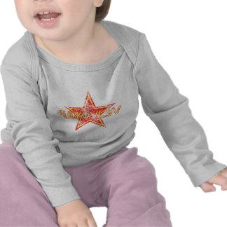 Yakovlev roter Stern getragen