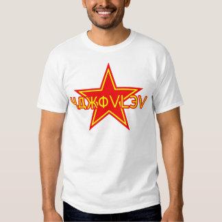 Yakovlev roter Stern Hemd