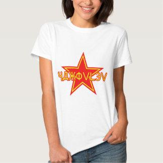 Yakovlev roter Stern Tshirts