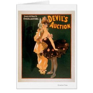 Yales die Auktions-Spiel ewig Teufels Karte