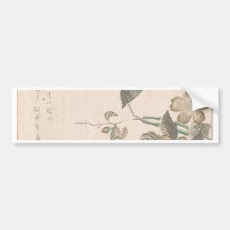 Yamabuki Blumen (kerria japonica) Autoaufkleber